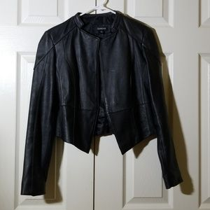 Bebe faux leather jacket